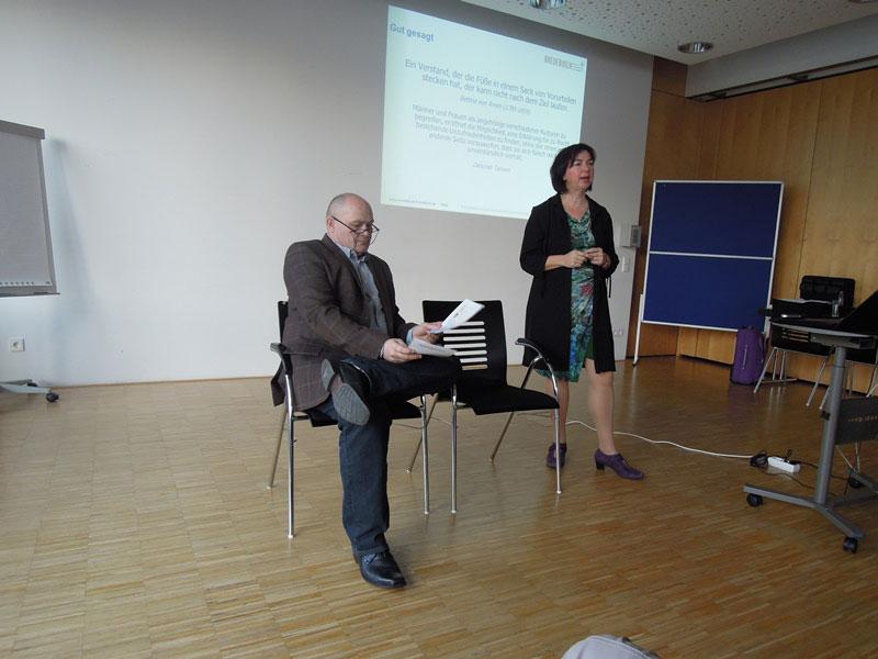 Vortrag Frauen- und Männerkommunikation